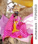 Small photo of Lord Krishna Statue