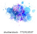let it snow abstract... | Shutterstock .eps vector #771913537