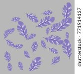 feather pattern  bright...   Shutterstock .eps vector #771914137