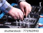 remote control for djs | Shutterstock . vector #771963943
