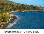 fishermen village in amed bali  ... | Shutterstock . vector #771971407
