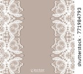 invitation or card template... | Shutterstock .eps vector #771984793