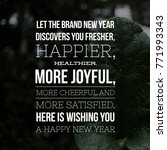 Small photo of Best Happy New Year Wish with Motivational And Inspirational Lines