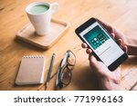chonburi  thailand   december... | Shutterstock . vector #771996163