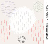 seamless pattern. abstract...   Shutterstock .eps vector #772074547