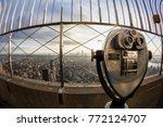 new york city  usa   november... | Shutterstock . vector #772124707