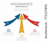 infographic template. vector... | Shutterstock .eps vector #772127893