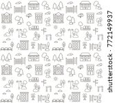 seamless pattern background... | Shutterstock .eps vector #772149937