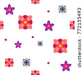 seamless pattern vector design... | Shutterstock .eps vector #772155493