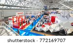 moscow  aug. 22  2017  view on... | Shutterstock . vector #772169707