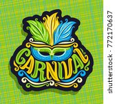 vector logo for carnival ... | Shutterstock .eps vector #772170637
