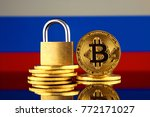 physical version of bitcoin ... | Shutterstock . vector #772171027