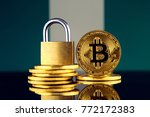 physical version of bitcoin ... | Shutterstock . vector #772172383