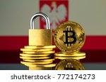 physical version of bitcoin ... | Shutterstock . vector #772174273