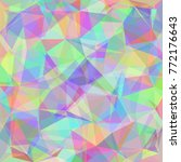colorful festive triangle... | Shutterstock .eps vector #772176643