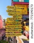 seligman   sep 25  the historic ... | Shutterstock . vector #772190173
