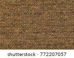 knitting wool texture... | Shutterstock . vector #772207057