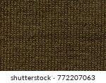 knitting wool texture... | Shutterstock . vector #772207063