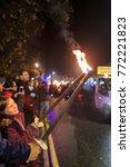 Small photo of United Kingdom, NOV 7: The traditional event - bon Fire on NOV 7, 2015 at United Kingdom