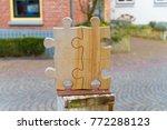 ootmarsum  netherlands  ... | Shutterstock . vector #772288123