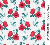 elegant colorful seamless... | Shutterstock .eps vector #772307623