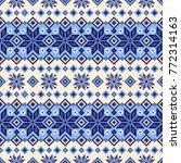 nordic pattern illustration. i... | Shutterstock .eps vector #772314163