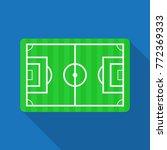 football pitch soccer field... | Shutterstock .eps vector #772369333