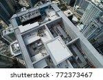 aerial brickell miami fl... | Shutterstock . vector #772373467