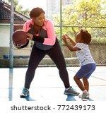 basketball sport exercise... | Shutterstock . vector #772439173