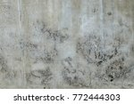 dirt on the wall  background   Shutterstock . vector #772444303