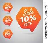 10  15  sale  disc  off on... | Shutterstock .eps vector #772482397