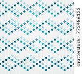 seamless geometric dots   Shutterstock .eps vector #772486123