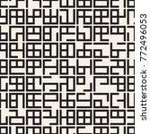 irregular tangled shapes.... | Shutterstock .eps vector #772496053