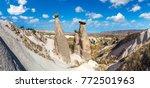three graces  three beautifuls  ... | Shutterstock . vector #772501963