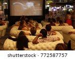 movie on the street   Shutterstock . vector #772587757