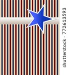 blue and red usa stars and... | Shutterstock .eps vector #772613593