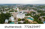 resurrection cathedral in the... | Shutterstock . vector #772625497