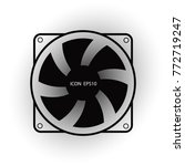 fan icon   cooling fan computer