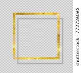 gold paint glittering textured...   Shutterstock .eps vector #772726063