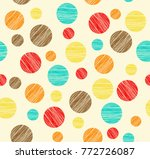 shaded rounds of different size ... | Shutterstock .eps vector #772726087