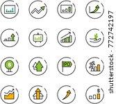 line vector icon set  ... | Shutterstock .eps vector #772742197