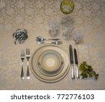 old rosenthal ivory porcelain... | Shutterstock . vector #772776103