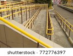 ramp way for the movement of... | Shutterstock . vector #772776397