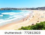 in  australia people in  bondie ... | Shutterstock . vector #772812823