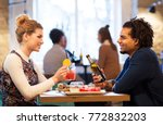 leisure  people and holidays... | Shutterstock . vector #772832203