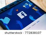 kazan  russian federation   sep ... | Shutterstock . vector #772838107