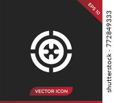 target vector icon.
