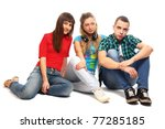 college friends | Shutterstock . vector #77285185