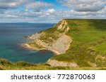 view from the south west coast... | Shutterstock . vector #772870063