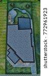 3d design   modern villa  ... | Shutterstock . vector #772961923